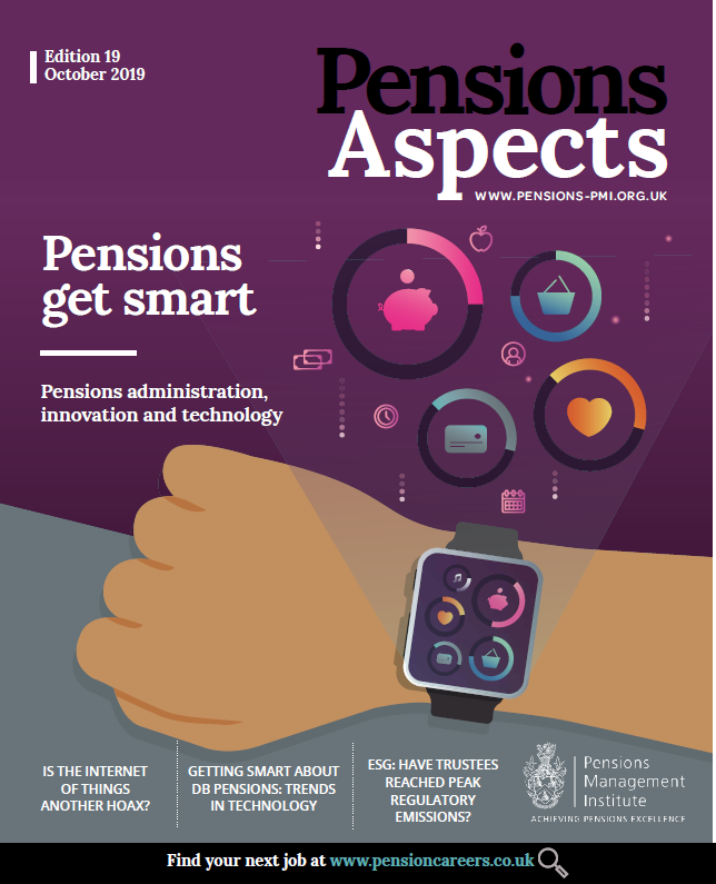 Pensions Aspects October 2019