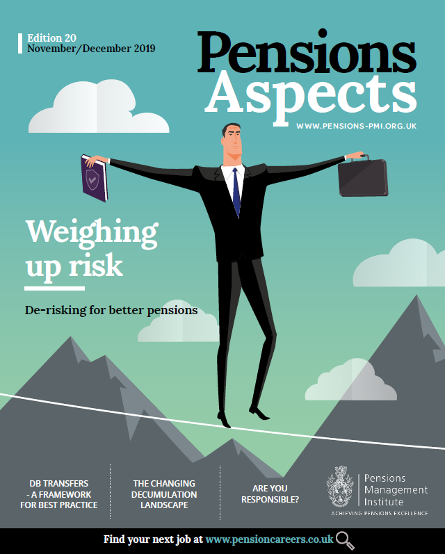 Pensions Aspects November/December 2019